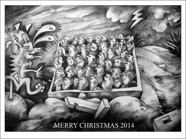Christmas 2014 single photo
