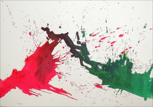 Spatter 21... (29 x 20)