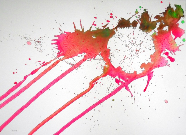 Spatter 27 (29 x 21)