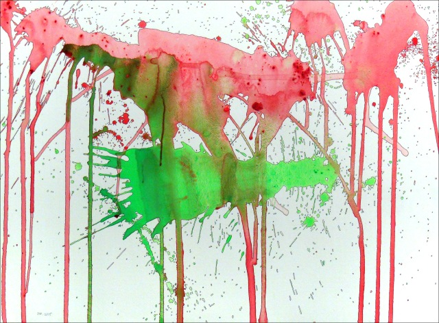 Spatter 10... (29 x21)